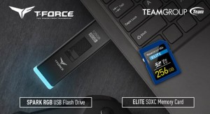 TEAMGROUP представила T-FORCE SPARK RGB USB и карту памяти ELITE SDXC