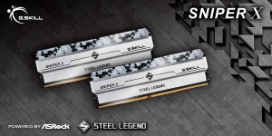 Представлена память G.Skill SniperX ASRock Steel Legend Edition