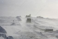 Трассу на границе с Казахстаном закрыли из-за метели