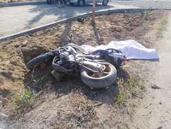Полиция ищет свидетелей гибели байкера у перинатального центра