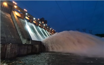 Уровень воды в Енисее продолжает падать. Сброс воды на Красноярской ГЭС пока не планируют увеличивать