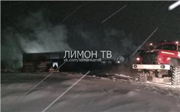 За сутки в Красноярском крае погибло в пожарах 4 человека. Двое из них сгорели на китайской лесопилке