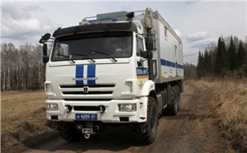 Полицейский автодом отправился в масштабный рейд на восток Красноярского края