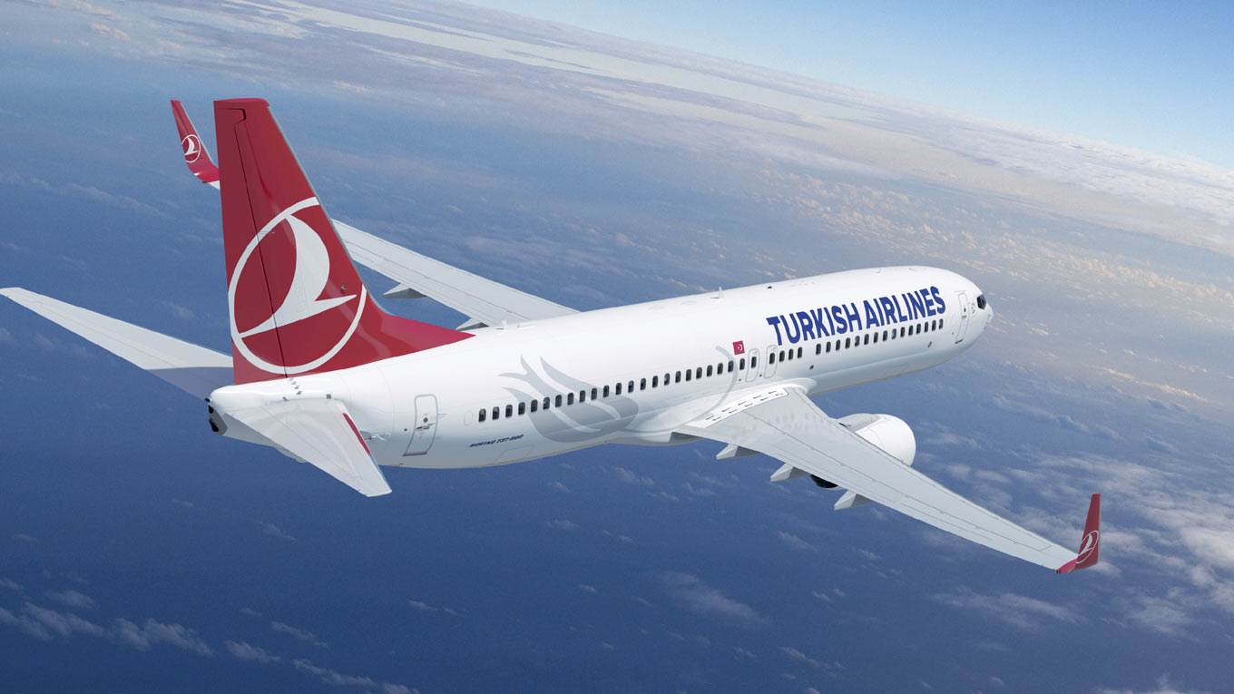 Авиакомпания Turkish Airlines в октябре станет чаще летать из Казани в Стамбул
