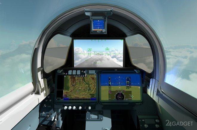 Новый сверхсекретный самолет Lockheed создан с помощью цифрового моделирования и уже готов к испытаниям (2 фото)