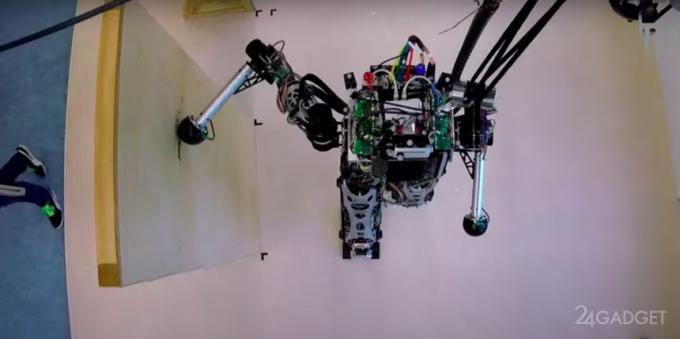 Двуногие роботы LOLA научились помогать себе «руками» при движении (видео)