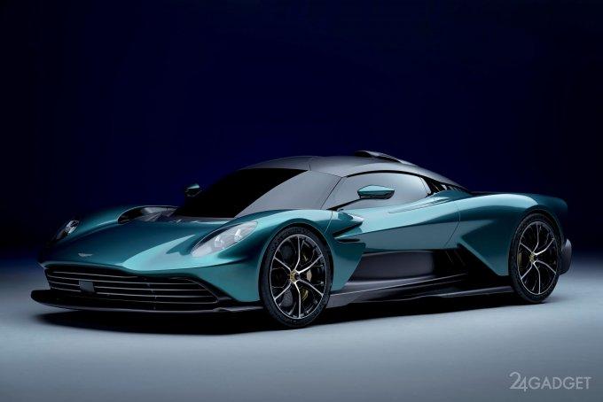 Гибридный суперкар Valhalla от Aston Martin с двигателем 937 л.с. (4 фото + видео)