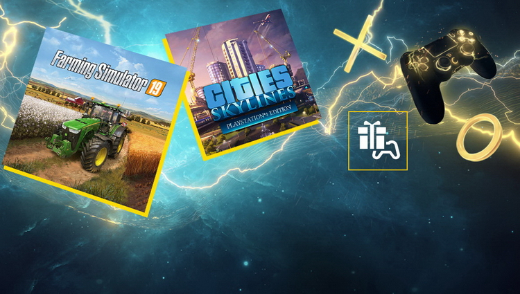 PlayStation Plus в мае: Farming Simulator 19 и Cities: Skylines