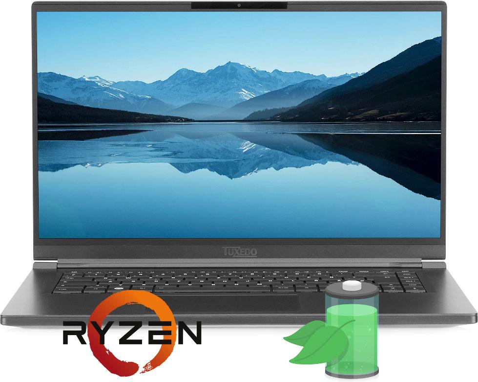 TUXEDO Computers представила первый в мире AMD-ноутбук с ОС Linux
