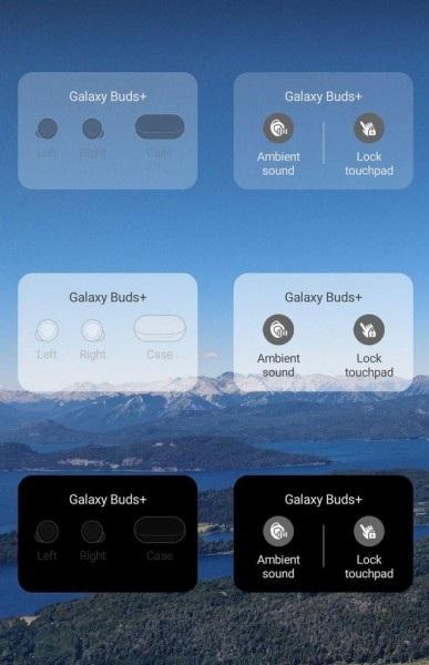 Наушники Samsung Galaxy Buds и Buds+ получили удобный виджет для домашнего экрана