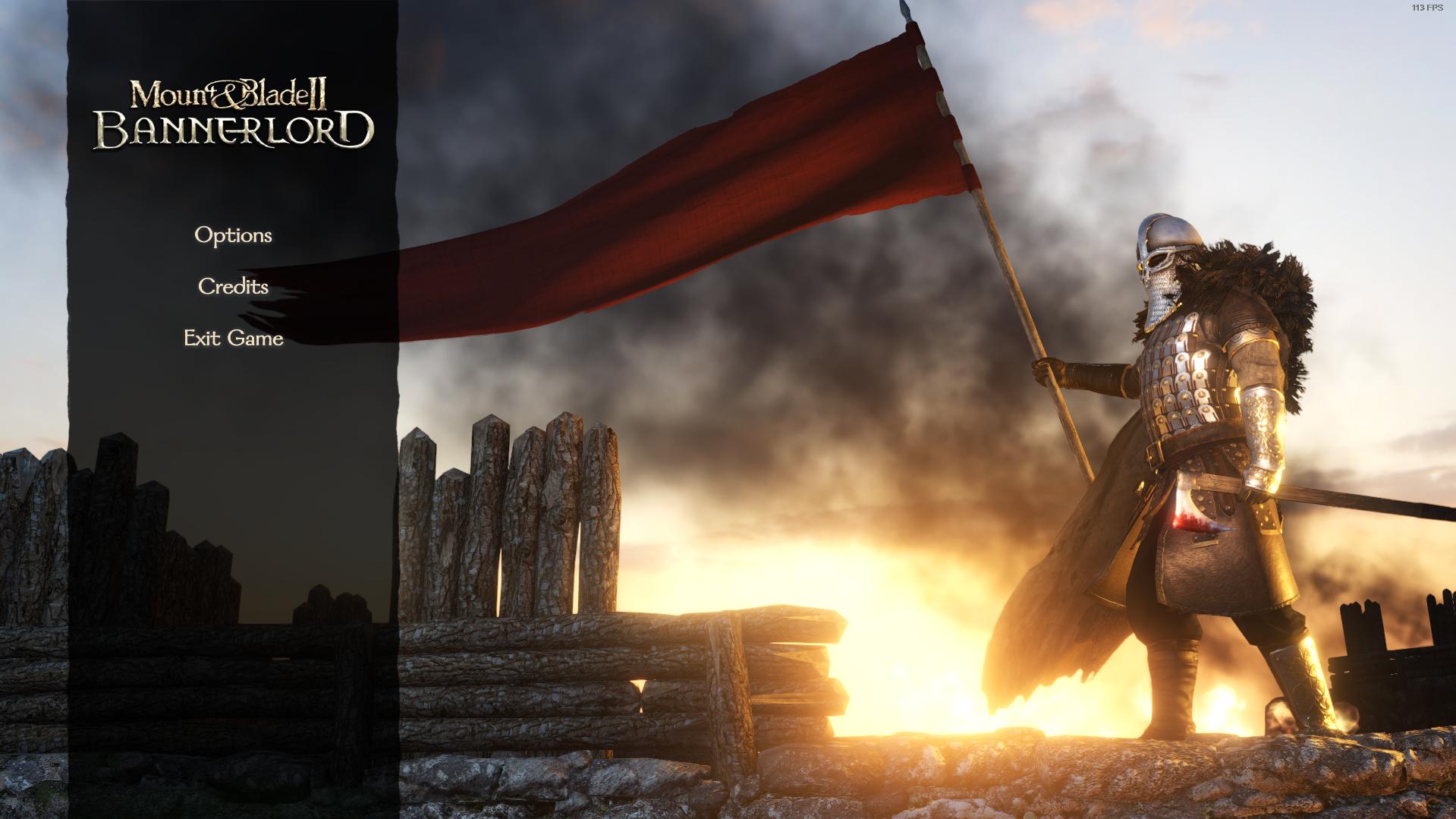 Посторонним В.: пользователи обнаружили, что в Mount & Blade II: Bannerlord пропадают пункты меню, отвечающие за вход в игру