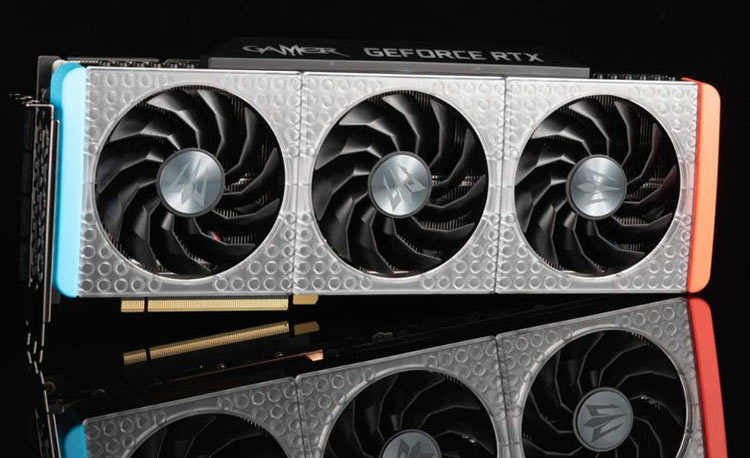 Самый дорогой блок LEGO: GALAX представила особое издание GeForce RTX 3090 Gamer