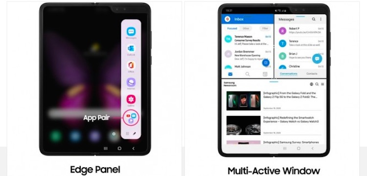 Новое ПО для Samsung Galaxy Fold наделяет смартфон некоторыми возможностями Galaxy Z Fold 2