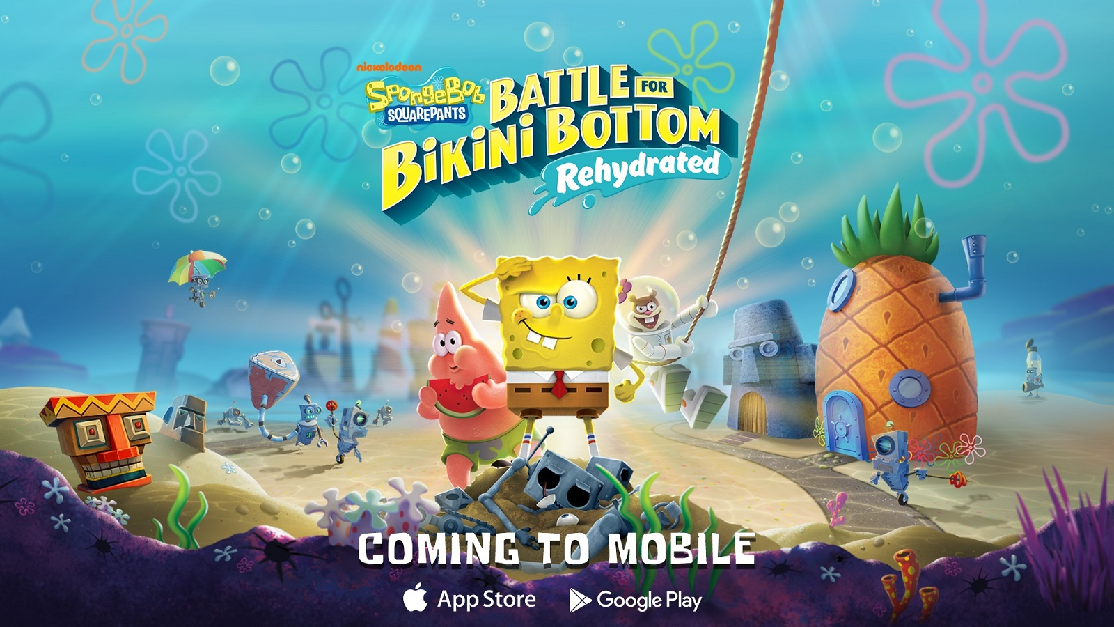 Ремастер SpongeBob SquarePants: Battle for Bikini Bottom выйдет на iOS и Android до конца января