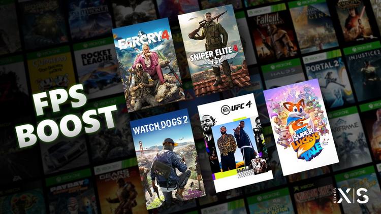 FPS Boost на Xbox Series X и S сможет работать не во всех старых играх