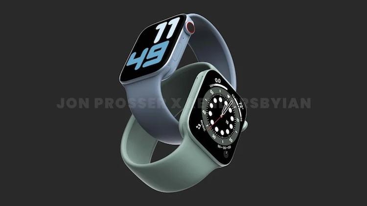 Apple Watch Series 7 показались на изображения с дизайном в стиле iPhone 12