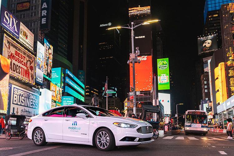 Mobileye первой получила разрешение на тестирование робомобилей в Нью-Йорке
