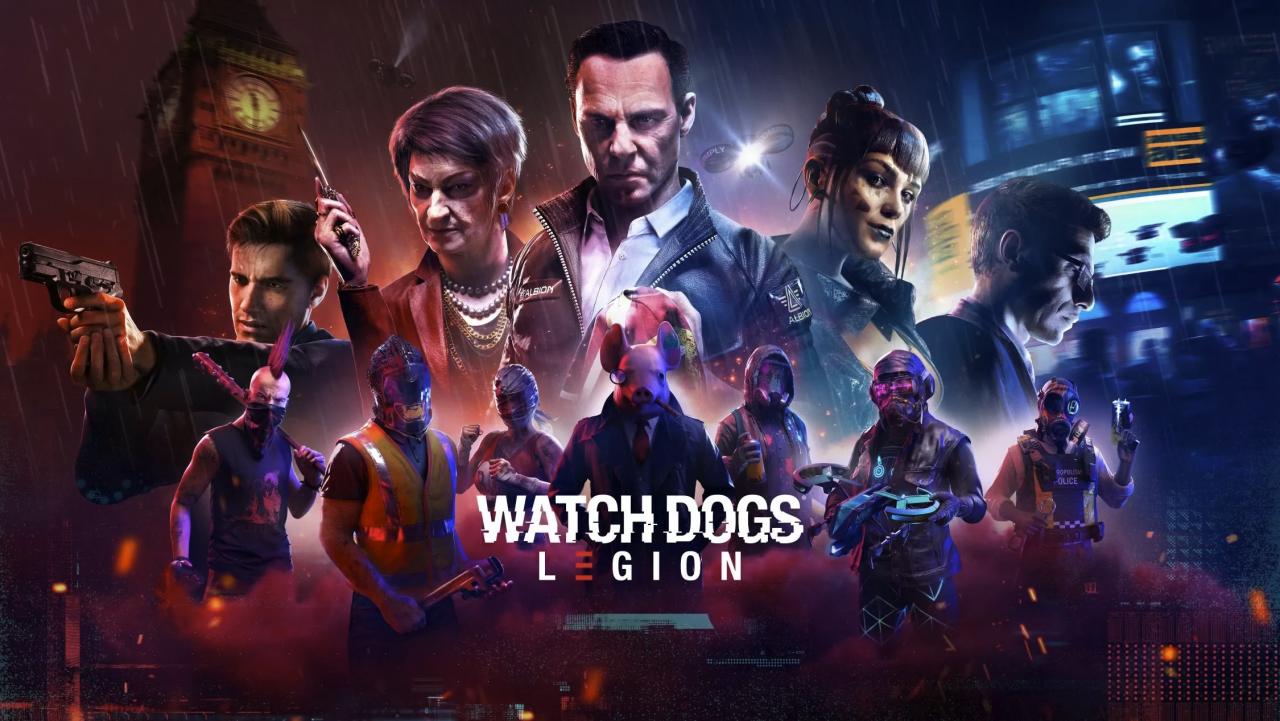 Watch Dogs Legion на Xbox Series X и PS5 будет работать в 4K 30 FPS с трассировкой лучей