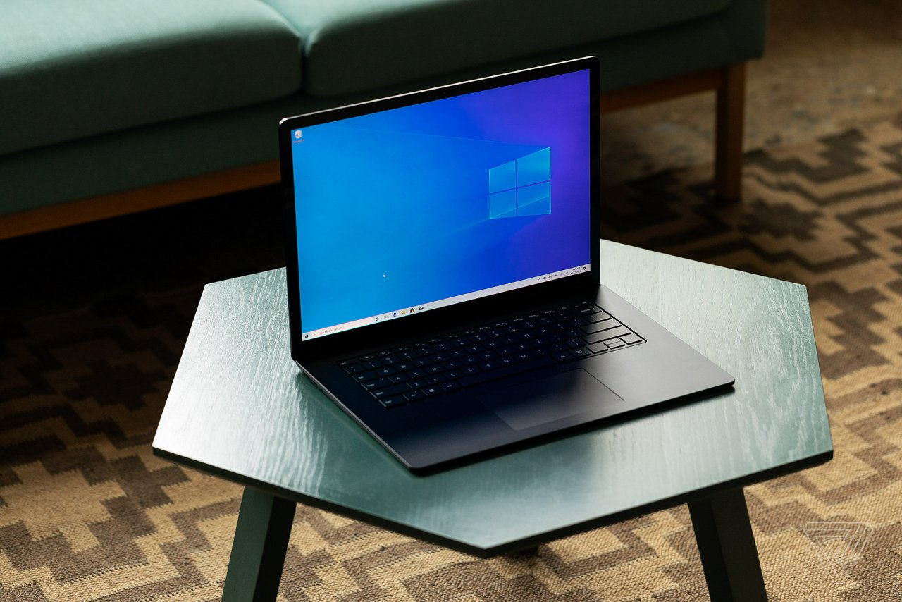 На сайте поддержки Microsoft появились страницы для Surface Laptop 4