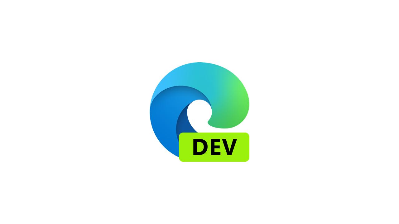 Выпущена сборка Microsoft Edge Dev 91.0.845.2