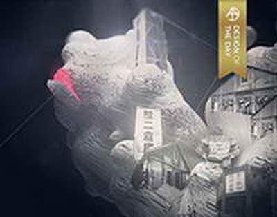 Как в Барнауле идет демонтаж главной новогодней елки