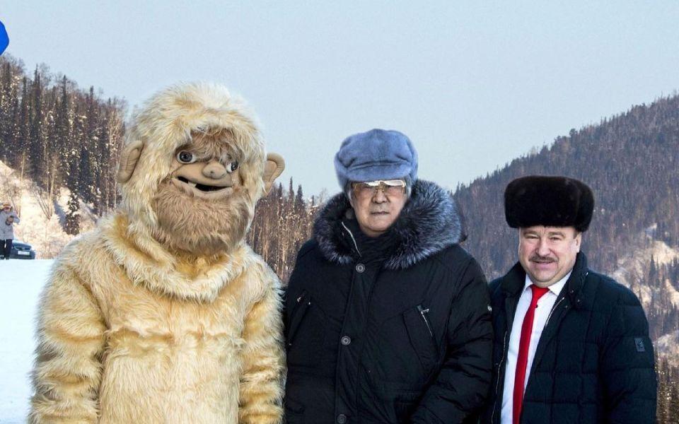 Аман Тулеев признался, что выдумал снежного человека в Кузбассе