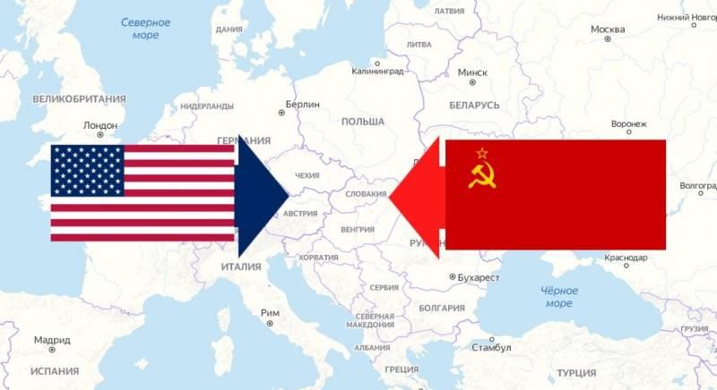 Присоединение стран Восточной Европы к советскому блоку – неизбежная необходимость