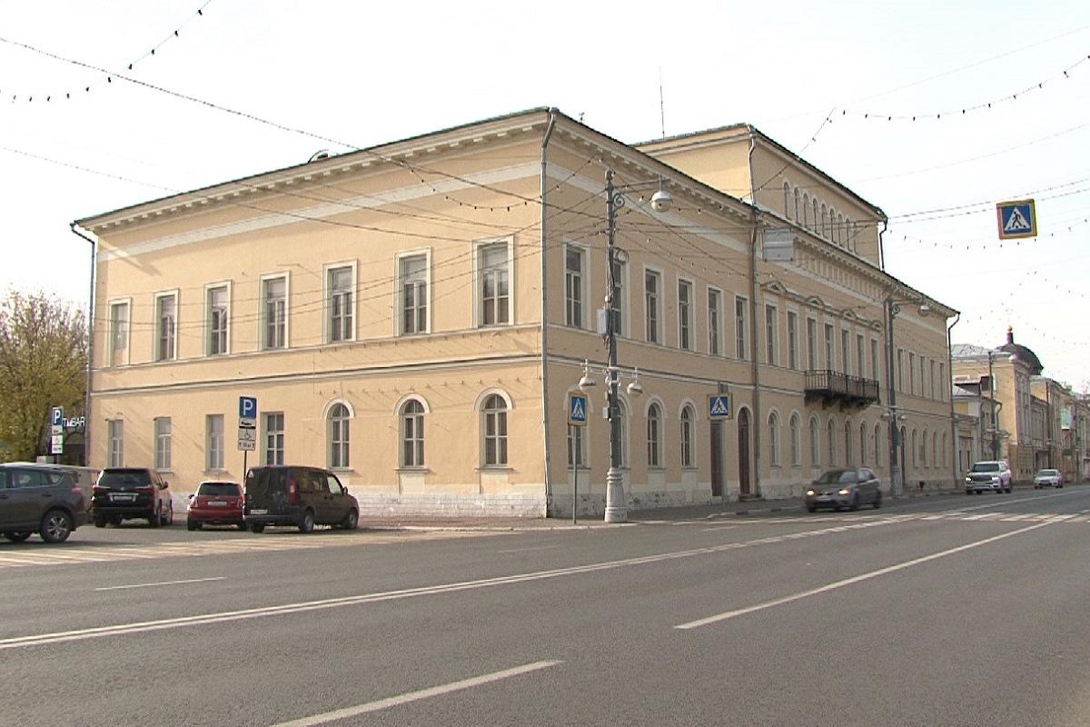 В Твери начнется ремонт Дома дворянского собрания