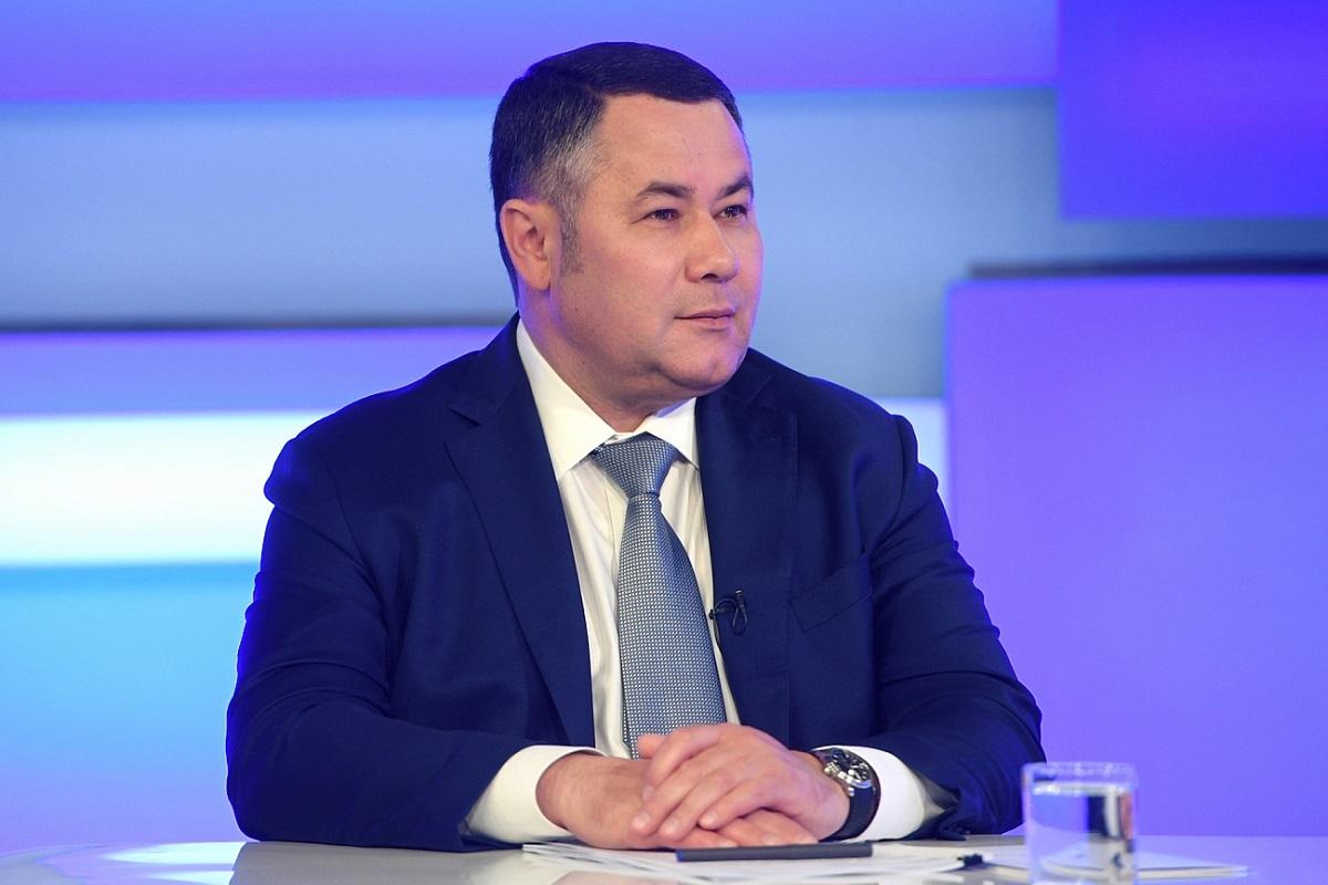 Игорь Руденя отметил активность участников рейтингового голосования за проекты благоустройства городов Тверской области