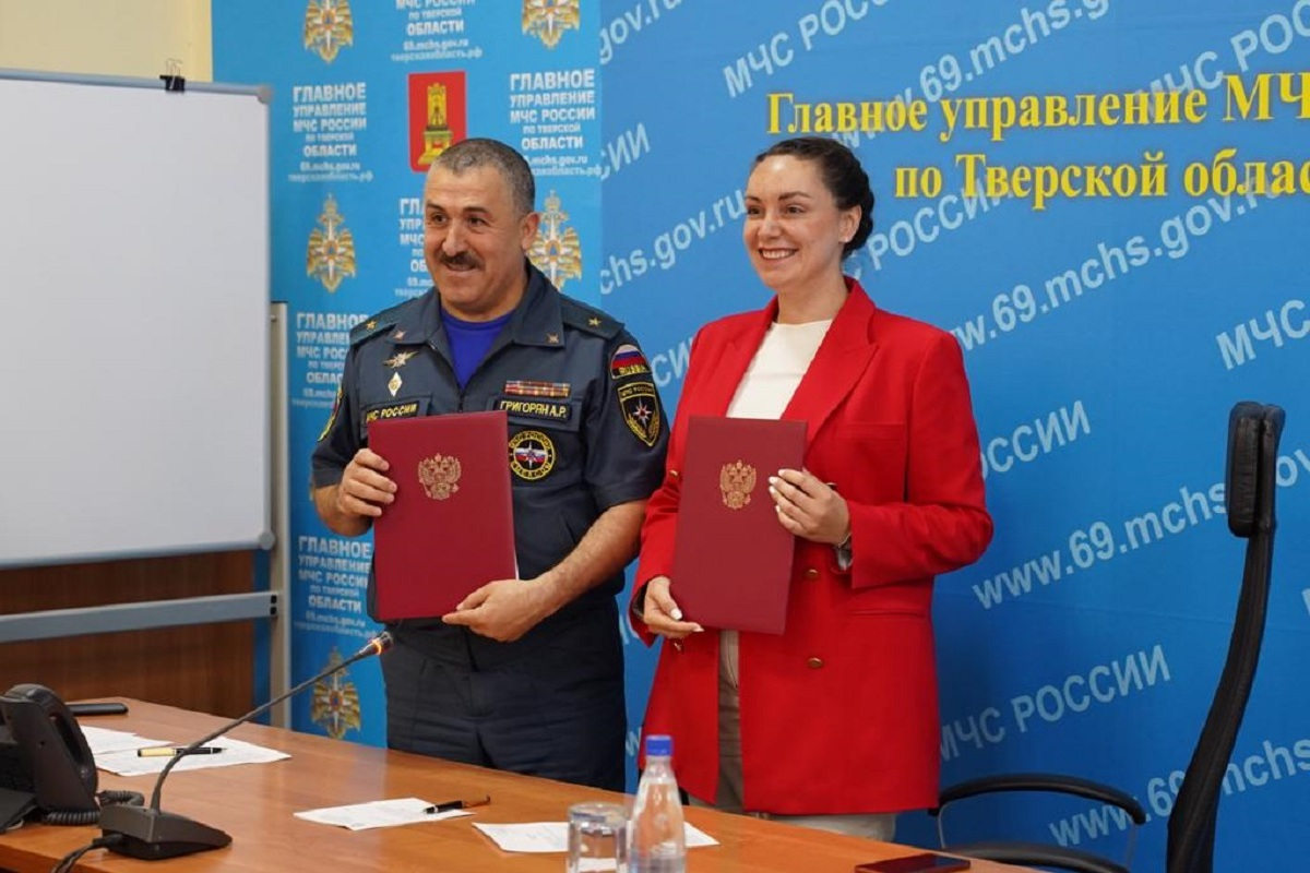В Тверской области усилится сотрудничество волонтеров и спасателей