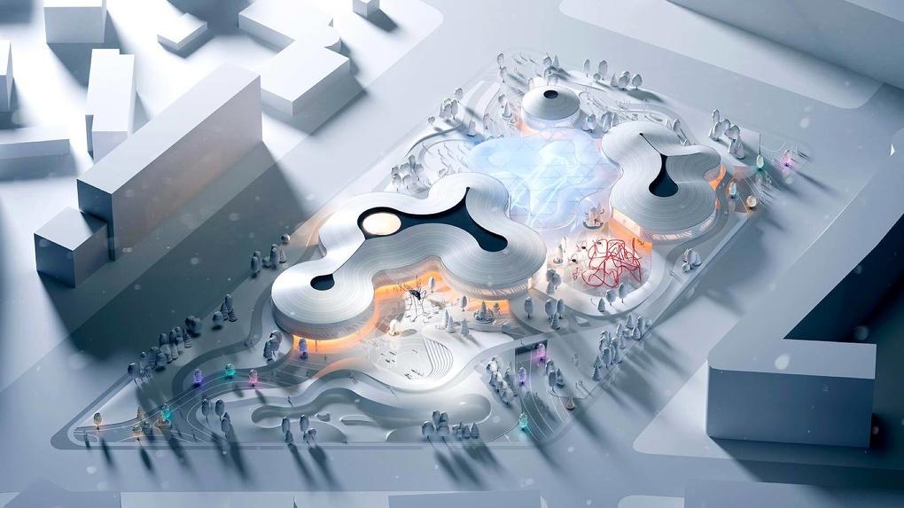 В Якутске построят круглогодичный парк с климат-контролем. Рендеры