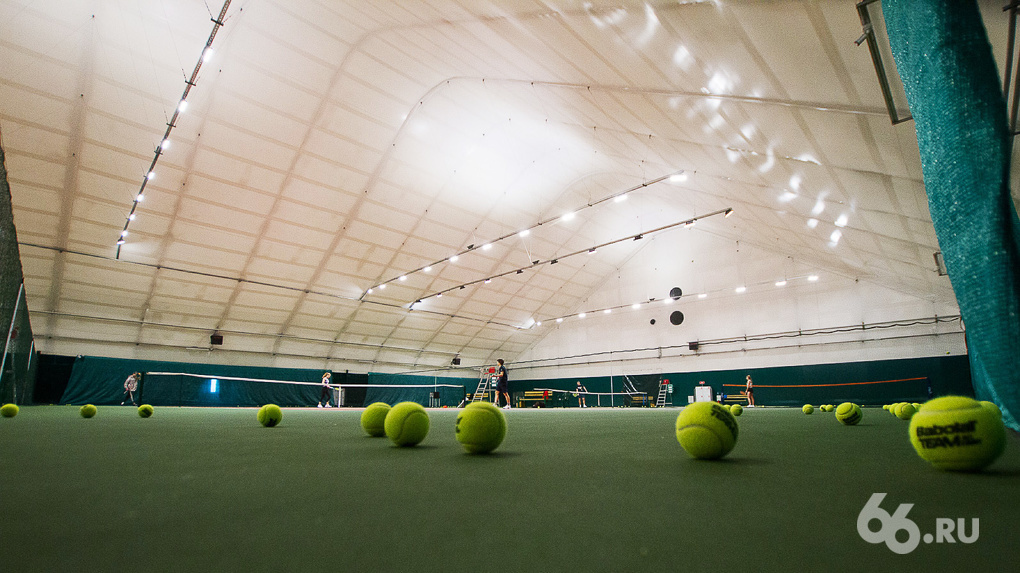 Администрация Екатеринбурга зарезервировала участок в Преображенском парке для 11 теннисных кортов