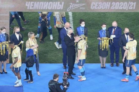 «Зенит» досрочно оформил чемпионство в матче против «Локомотива»