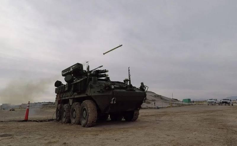 Показаны испытания американской манёвренной системы ПВО