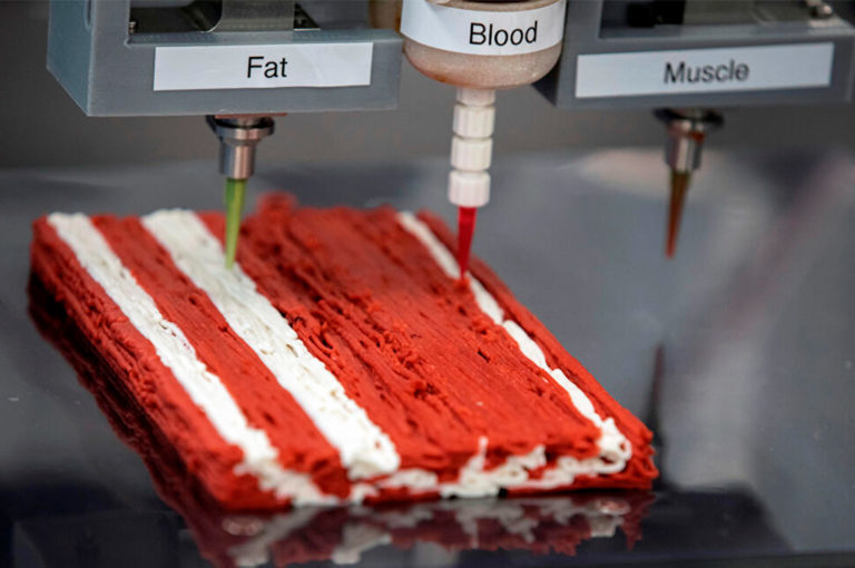 Россияне начнут печатать себе еду на 3D-принтере уже через 5-7 лет
