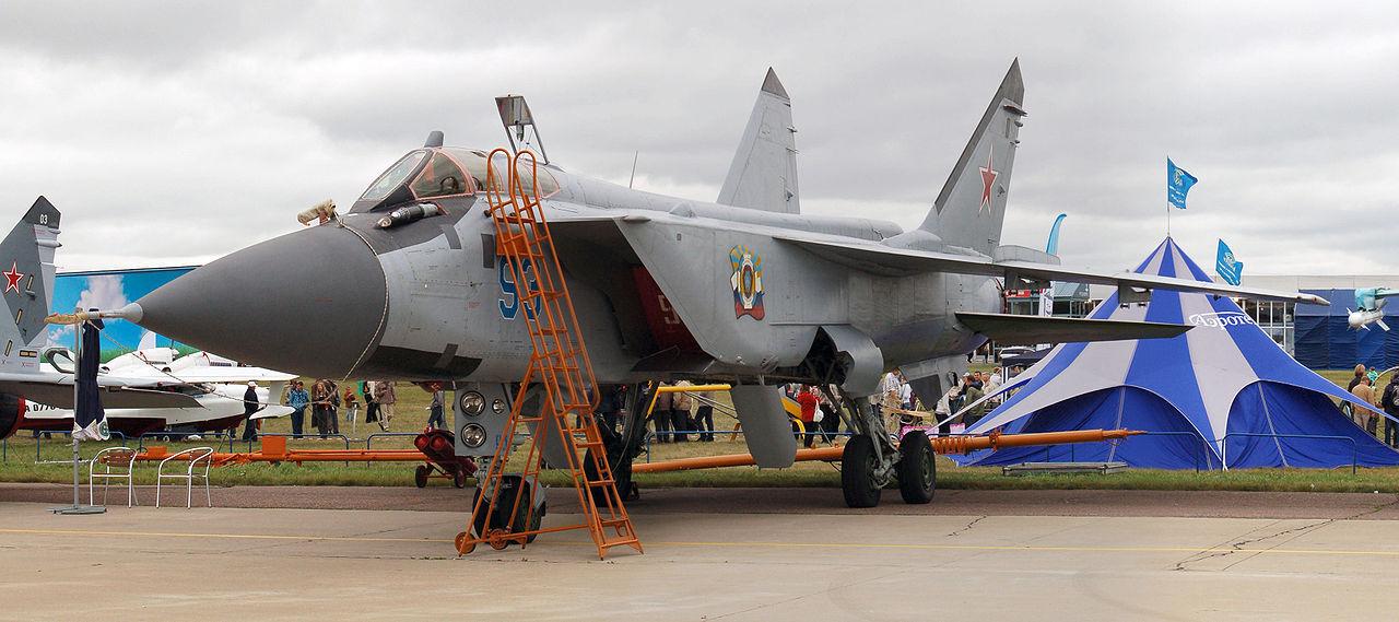 Российские истребители МиГ-31 вооружат новыми ракетами