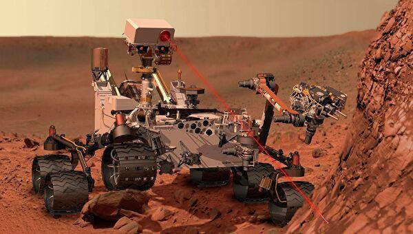 Российские школьники изобрели модель аппарата для поиска воды на Марсе