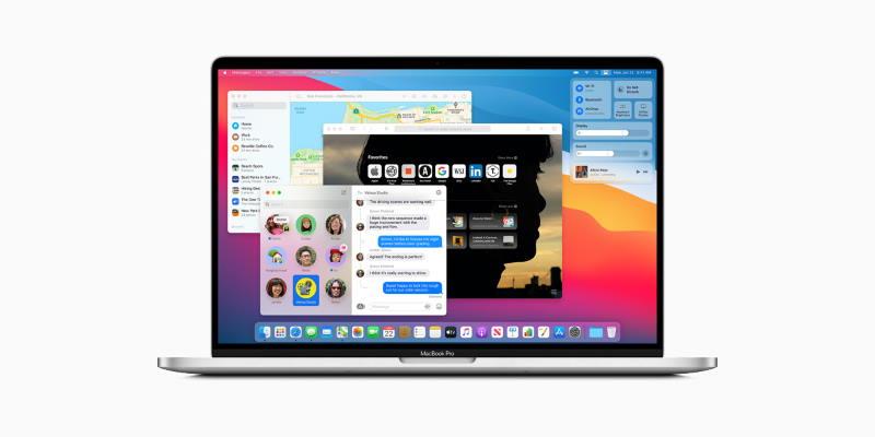 Apple представила macOS Big Sur — с новым дизайном интерфейса и крупным обновлением Safari