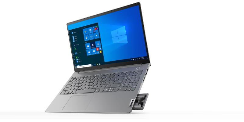 Lenovo представила ноутбук со встроенными TWS-наушниками