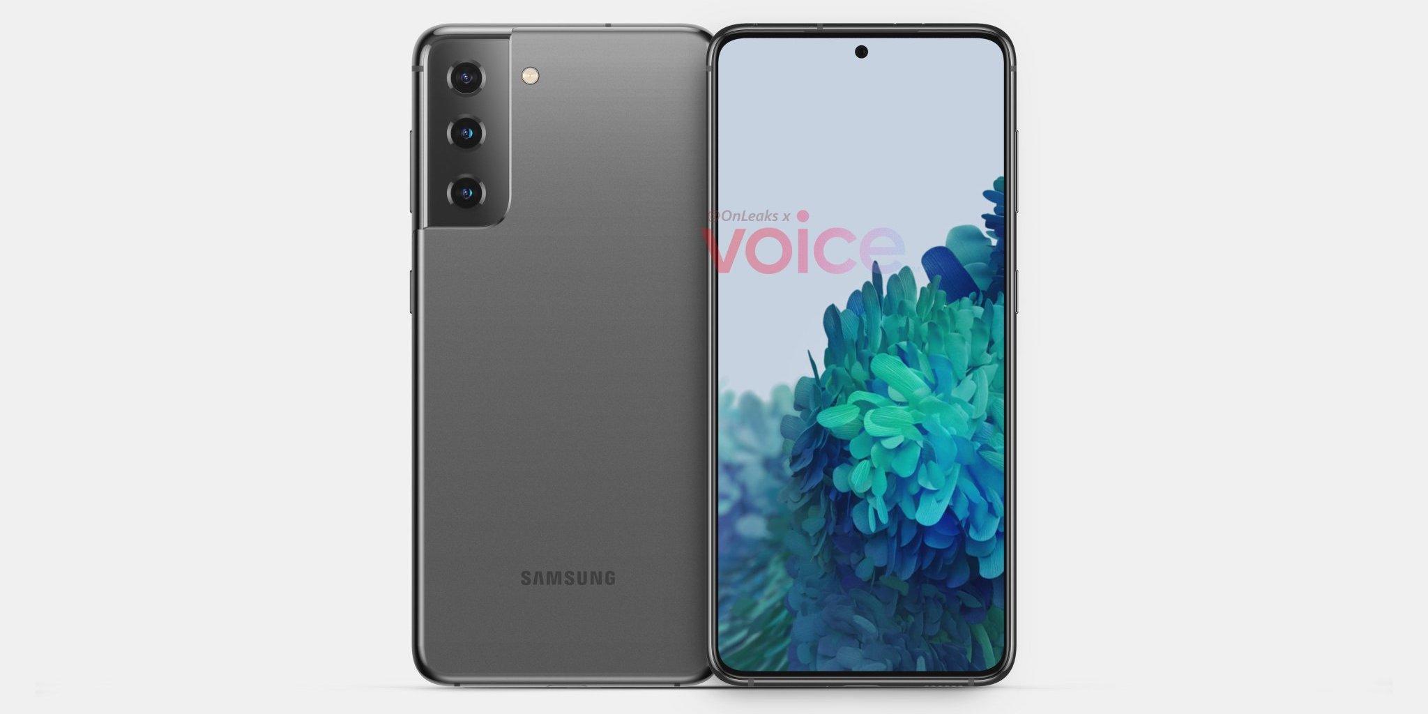Опубликованы первые изображения Samsung Galaxy S21