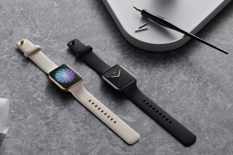 Умные часы с Android, изогнутым экраном и дизайном, как у Apple Watch. Oppo Watch готовятся к выходу на европейский рынок