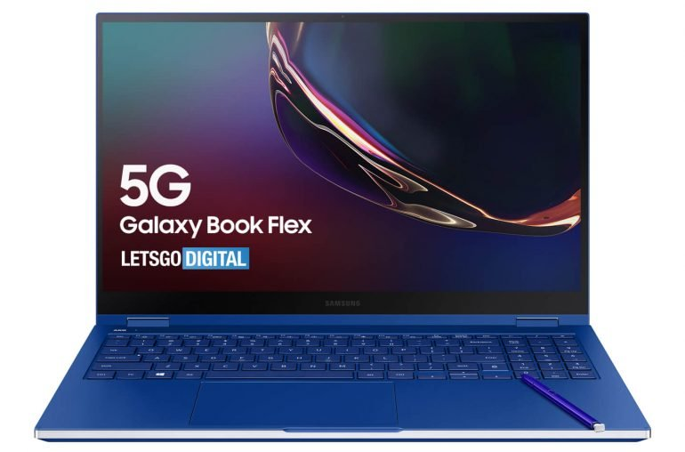 Ноутбук-перевертыш Samsung Galaxy Book Flex 5G получит обновленный стилус S Pen, как у Galaxy Note20 Ultra