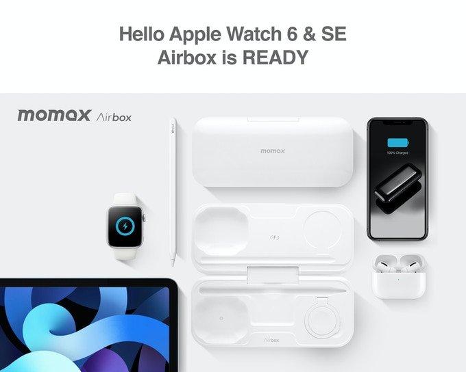 Первый внешний аккумулятор для беспроводной зарядки iPhone, Airpods, Apple Watch и Apple Pencil