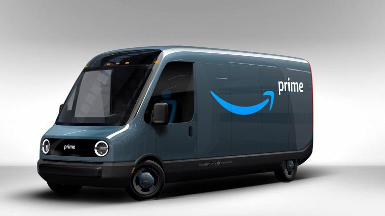 Электрические фургоны Amazon Rivian разъезжаются по США