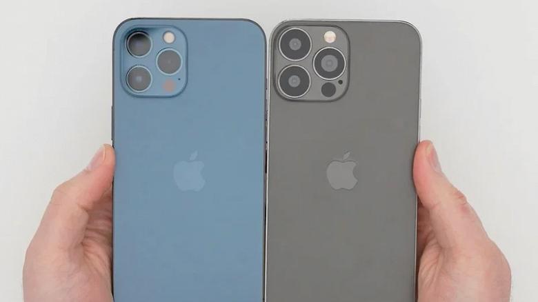 Так выглядит iPhone 13 Pro Max. Очень качественный макет впервые сравнили с iPhone 12 Pro Max