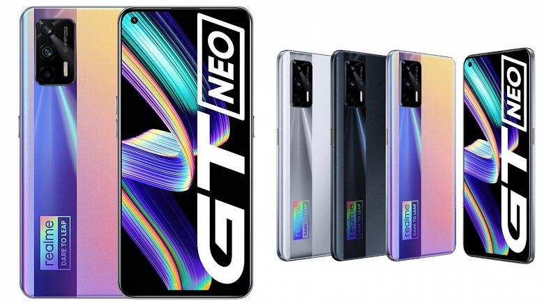Realme GT Neo оказался очень популярным смартфоном: продажи превысили 500 000 единиц только по онлайновым каналам в Китае