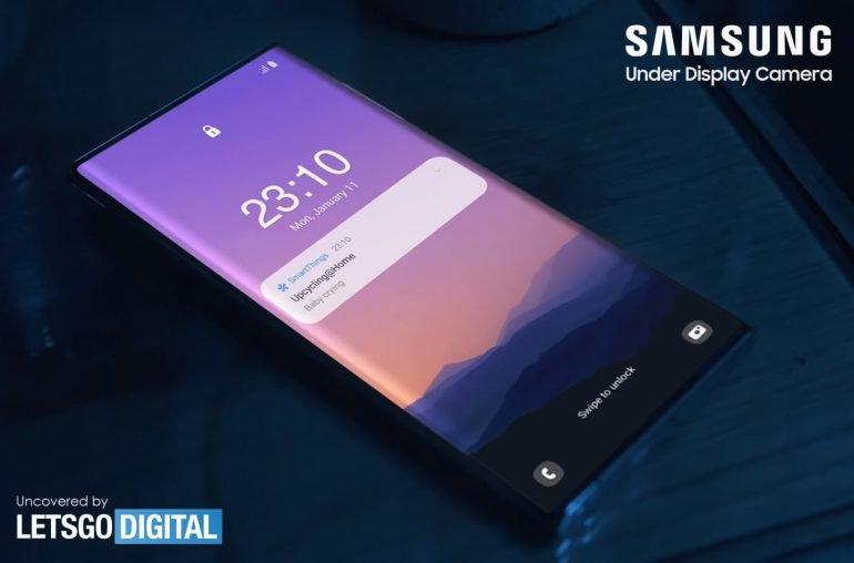 Samsung впервые продемонстрировала скрытую под экраном камеру и первыми её получат не смартфоны