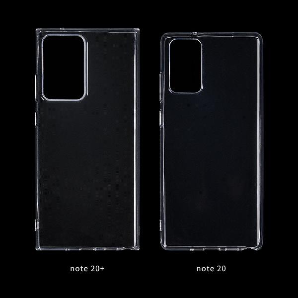 Одно изображение позволяет сравнить габариты Samsung Galaxy Note20+ и Note20