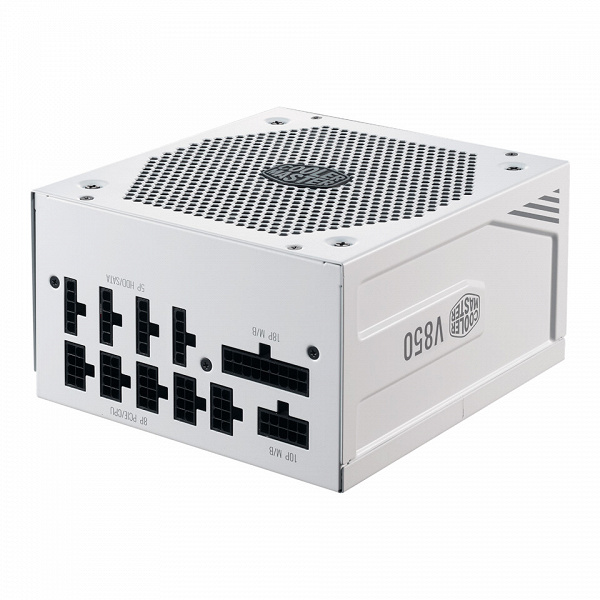 Блок питания Cooler Master V850 Gold V2 White Edition привлечёт тех, кто собирает ПК из компонентов белого цвета