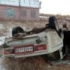 В ДТП с перевернувшимися машинами на омской трассе пострадали дети